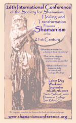 Flyer Shamanism Conference